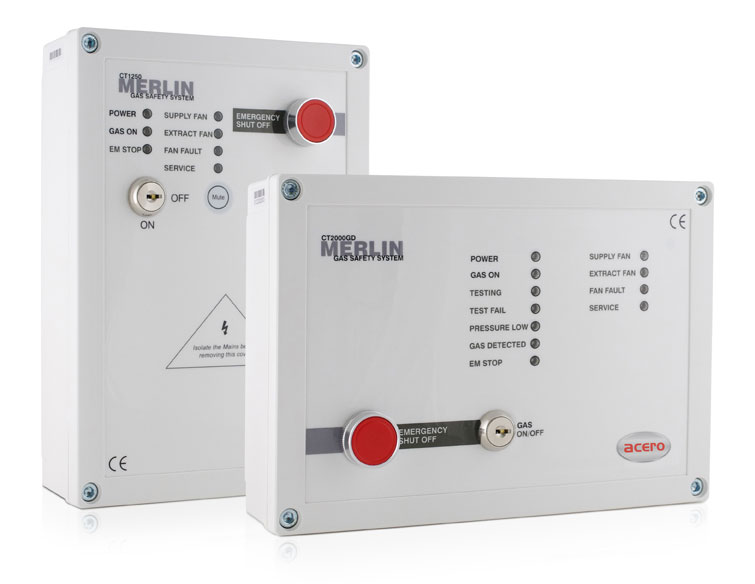 Gas Interlock Control Panel